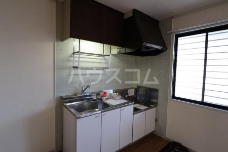 シルキーハイツ 203号室のキッチン
