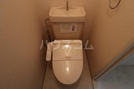 シルキーハイツ 203号室のトイレ