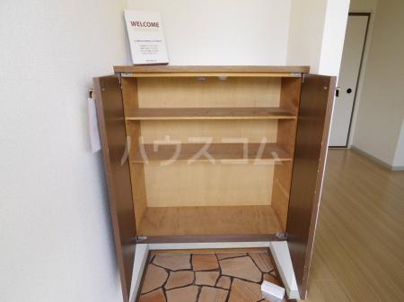 シルキーハイツ 203号室の玄関