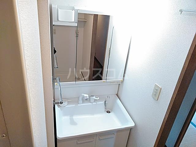 グリーンパークハイム 402号室の洗面所