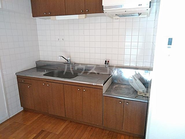 ファミール若園 303号室のキッチン