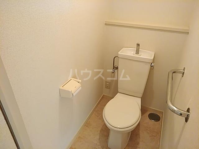 ファミール若園 303号室のトイレ