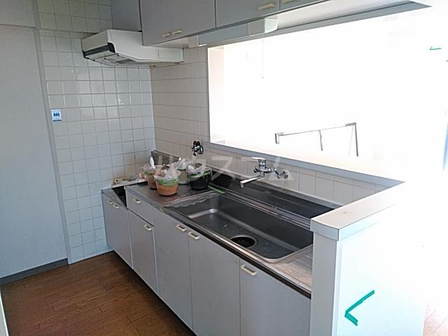 グローバルサイト茨木 206号室のキッチン