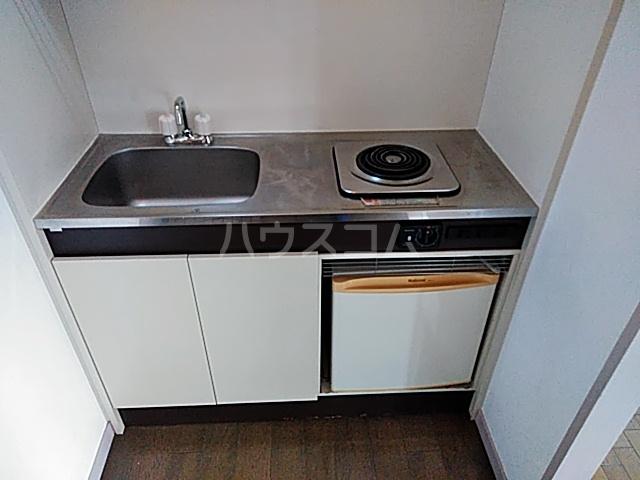 グリーンハイム箕面 2B号室のキッチン
