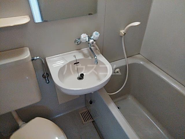 グリーンハイム箕面 2B号室の洗面所