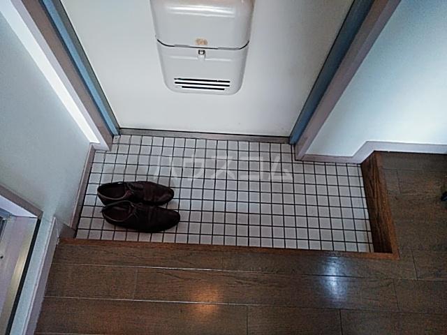 グリーンハイム箕面 2B号室の玄関