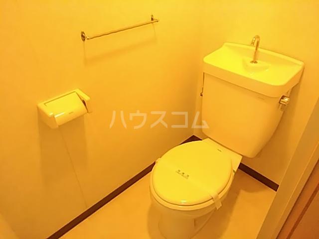 プレステージK  210号室のトイレ
