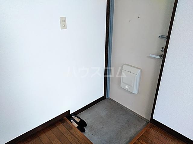 ハイツ松永 201号室の玄関