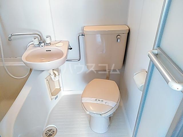 ハイツ松永 201号室のトイレ