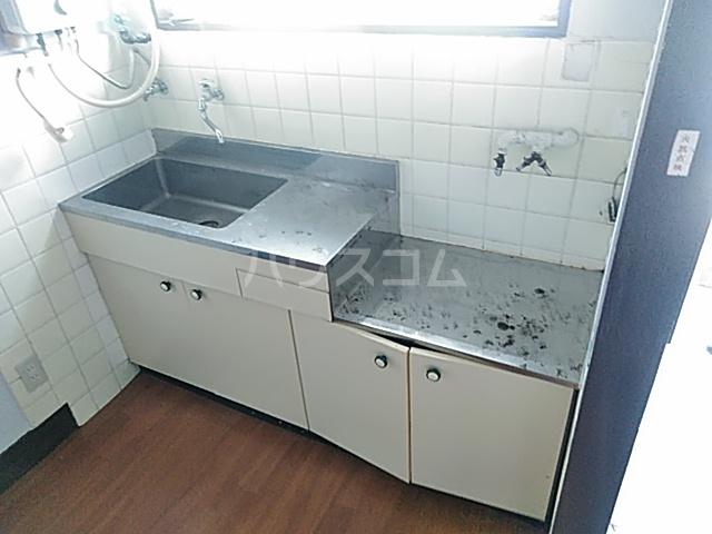 小野マンション 206号室のキッチン