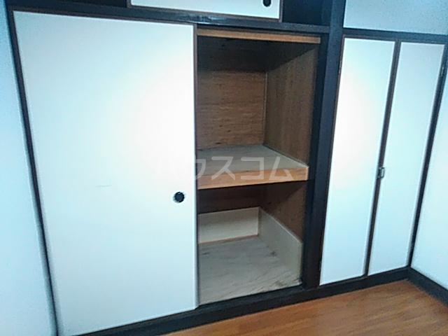 小野マンション 206号室の収納
