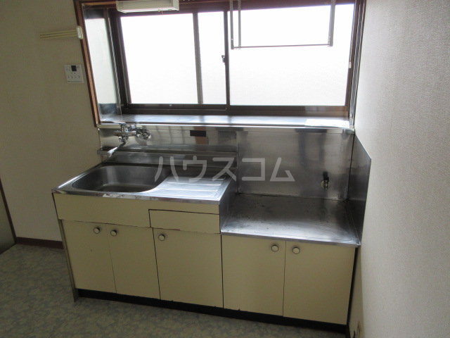 小圷住宅2のキッチン