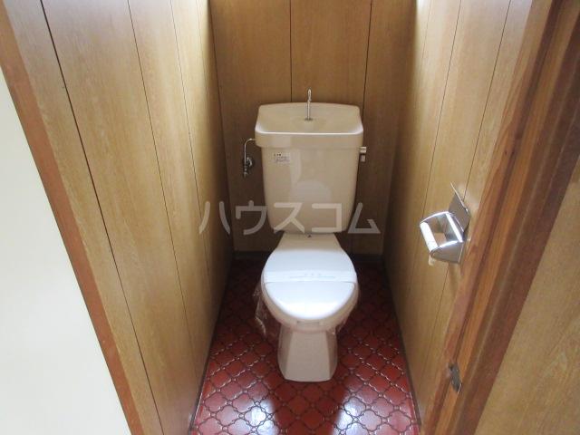 小圷住宅2のトイレ