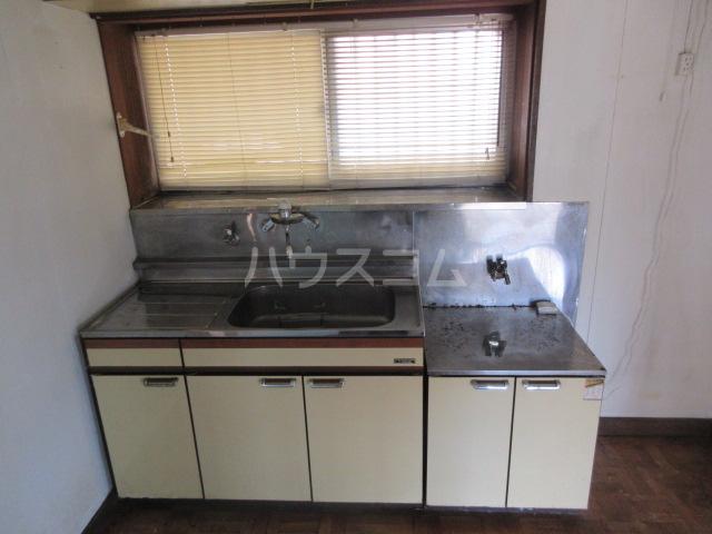 舟木平屋のキッチン