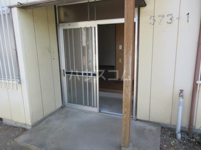 舟木平屋の玄関