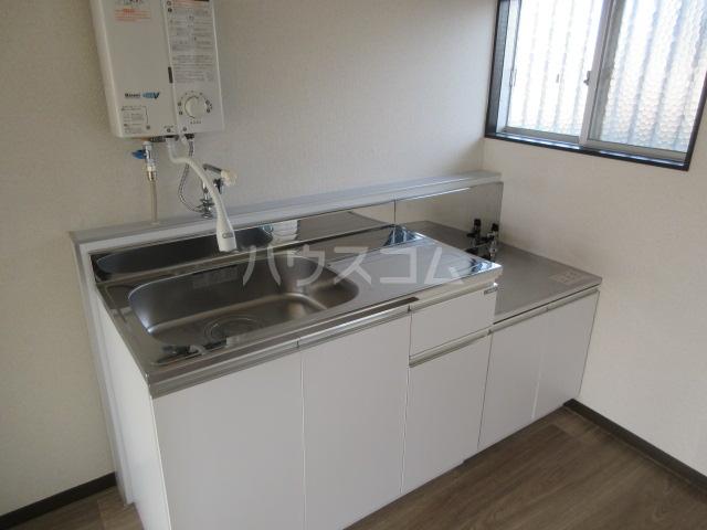 コーポ大塚 202号室のキッチン