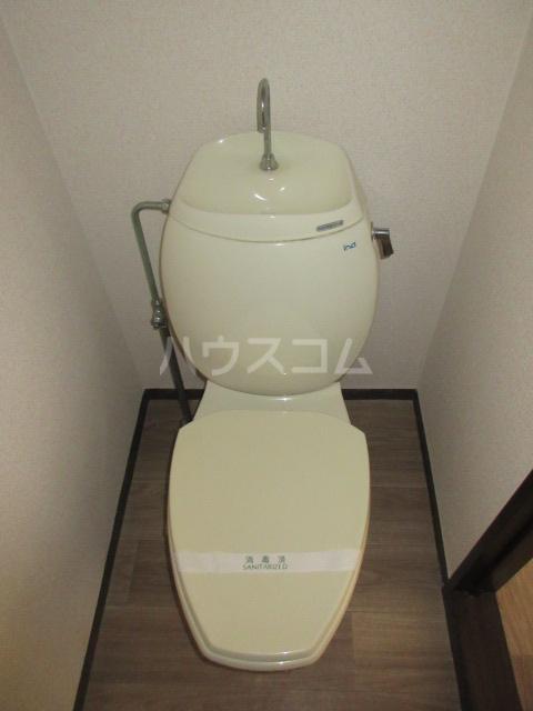 コーポ大塚 202号室のトイレ