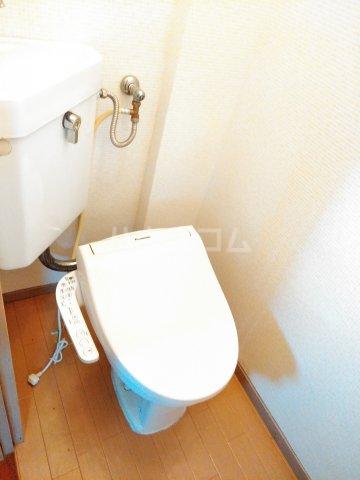 三の丸ブルーハイム 106号室のトイレ