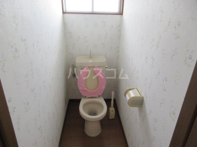 酒門貸家のトイレ