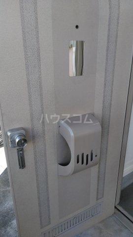 フローラハイツB 101号室の玄関