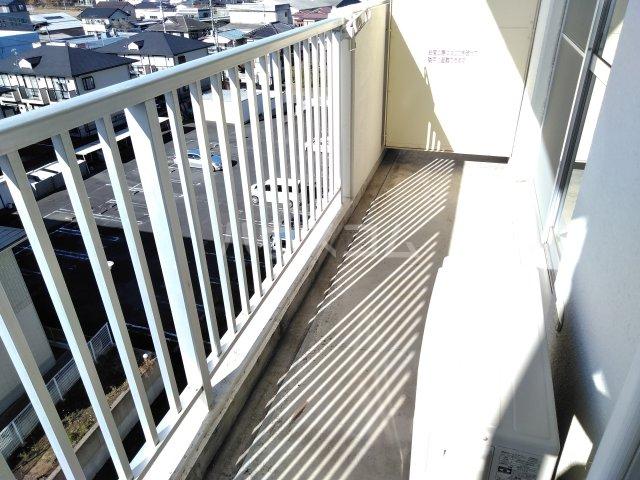 総業水戸第三ハイム 311号室のバルコニー