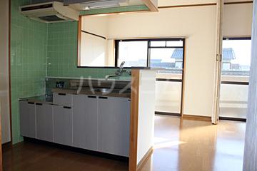 グランドハイツ石黒 307号室のキッチン