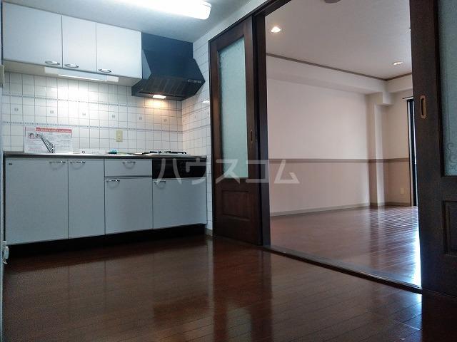 Grand Latour 205号室のキッチン