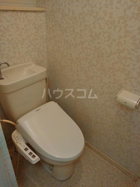 リッチモンド潤 A105号室のトイレ
