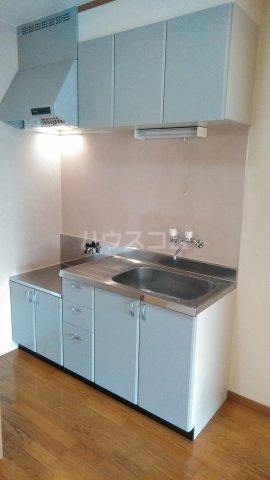 クレイドル武田 4号室のキッチン