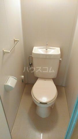 クレイドル武田 4号室のトイレ