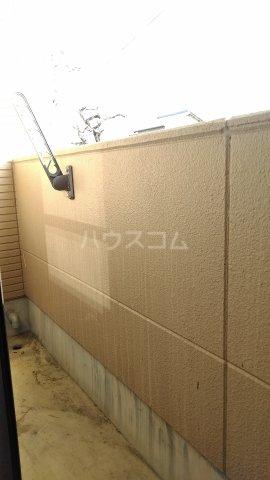 クレイドル武田 4号室のバルコニー
