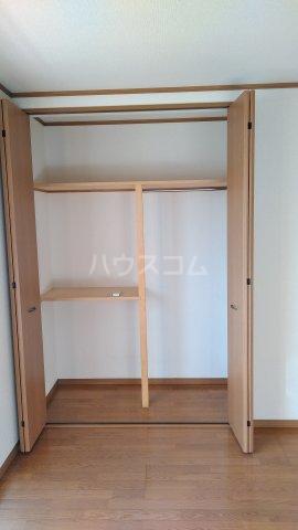 クレイドル武田 4号室の収納