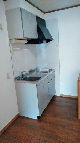 クレイドル松原 2号室のキッチン