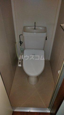 クレイドル松原 2号室のトイレ