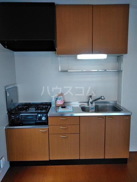 リジェール東山崎 A棟 102号室のキッチン
