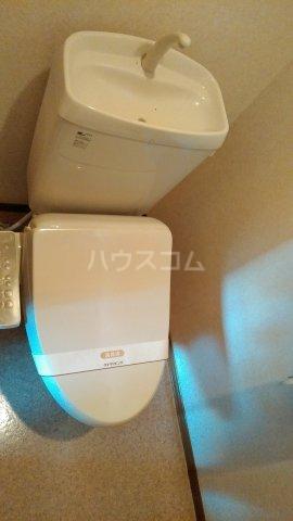 シュガー・コート 203号室のトイレ