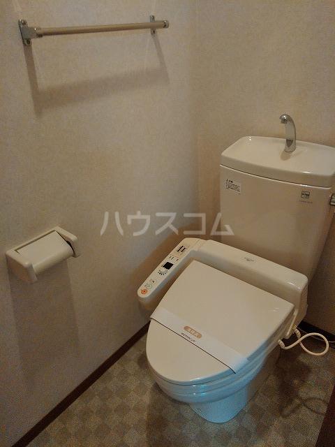 リジェール東山崎 D棟 102号室のトイレ