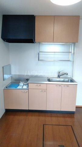 エクセレンスファミール木太 B棟 B102号室のキッチン