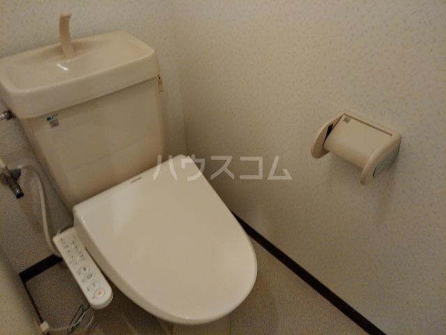 サウスプラザ六条 401号室のトイレ