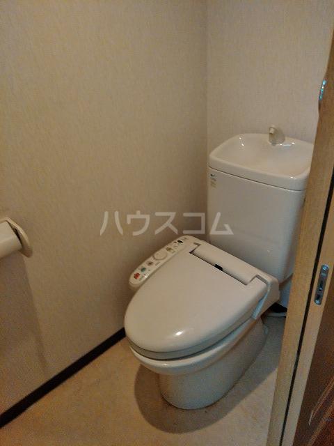 レーベンスクエア 307号室のトイレ