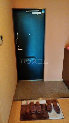 フォブール高崎 102号室の玄関