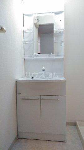 フィネス三条 302号室の洗面所