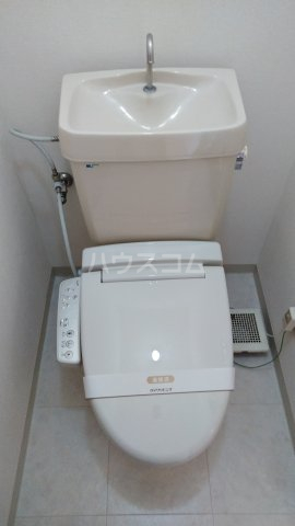 フィネス三条 302号室のトイレ