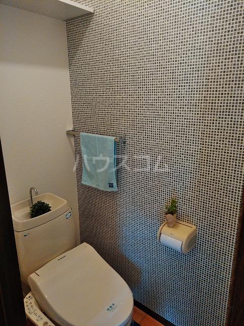 ヴィラ橋本 A棟 102号室のトイレ