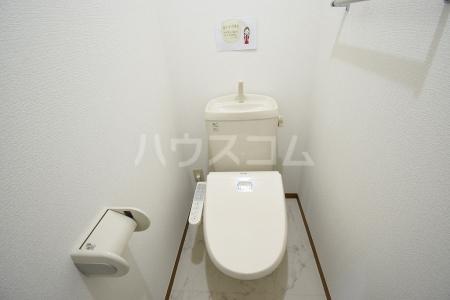 サン・スクエア A棟 202号室のトイレ