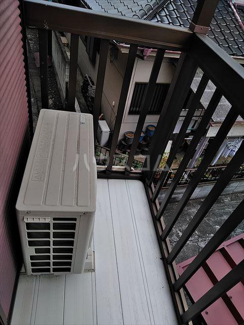 セントラルハイツ 201号室のバルコニー