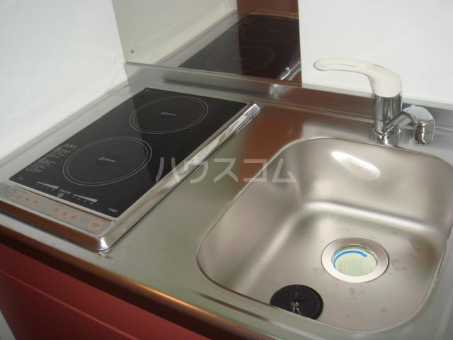 レオパレス葵 210号室のキッチン