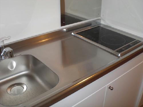 レオネクスト吉良吉田 204号室のキッチン