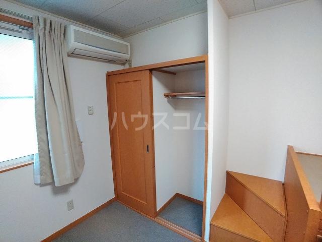 レオパレスエパティーク 202号室の収納