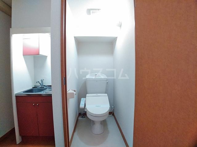 レオパレスエパティーク 202号室のトイレ